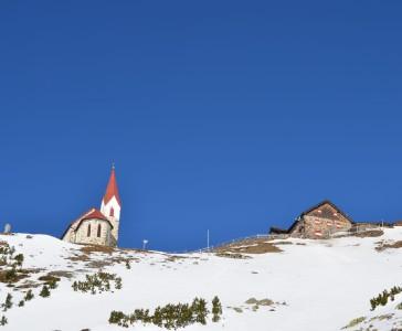 Winter - Hütte geschlossen